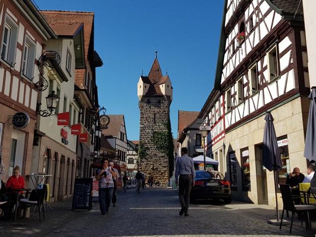 Thị trấn Herzogenaurach, nước Đức